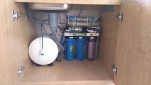 Lắp đường nước thải cho máy