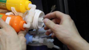 Lắp màng RO trong máy lọc nước kangaroo