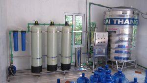 Hệ thống cấp nước đầu vào