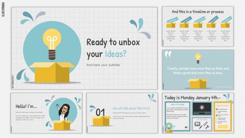 Unbox 789x444 1 - Download 49+ mẫu Slide PowerPoint đơn giản mà đẹp 2020
