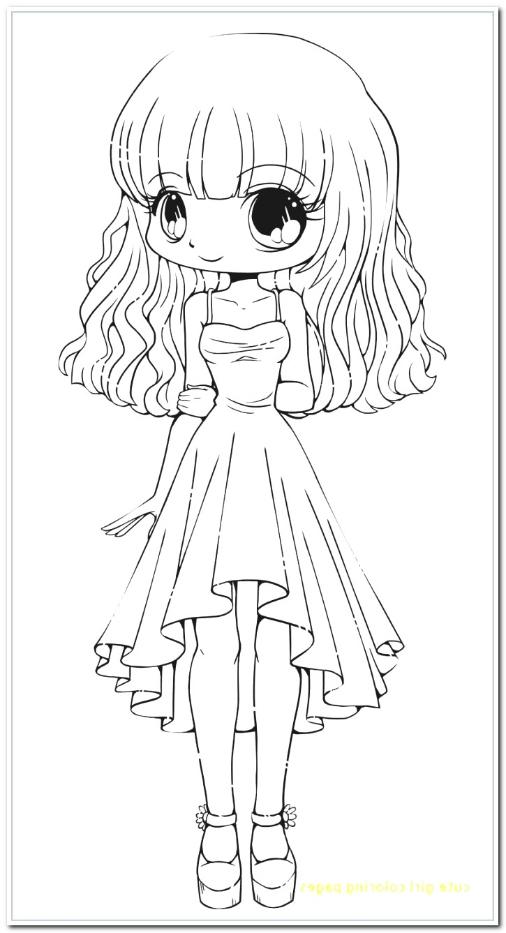 Cute Girl Coloring Pages Anime Coloring Pages Girl Best New Coloring Pages For Girls Cute