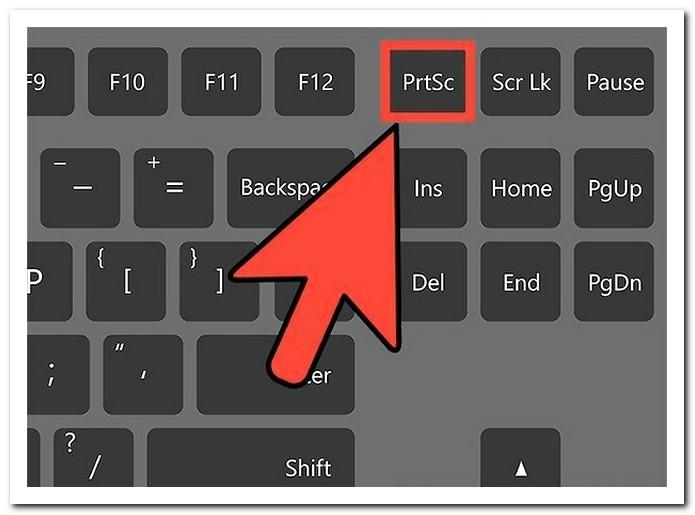 Nhấn Phím Print Screen Trên Màn Hình Máy Tính để Chụp ảnh