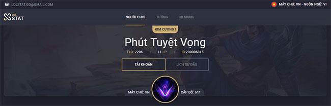 LMSS Lolstat Việt Nam