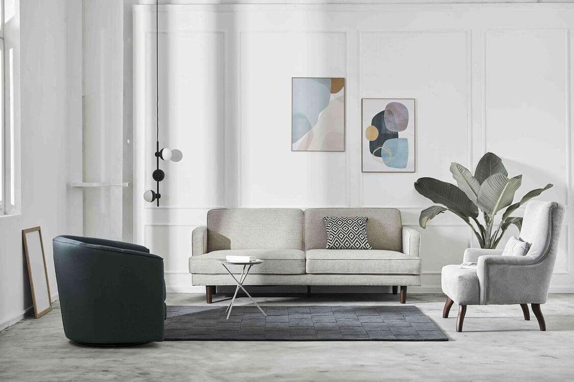 Sofa 2 chỗ thích hợp cho những gia đình trẻ