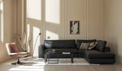 Sofa góc giúp tối ưu hóa không gian phòng khách