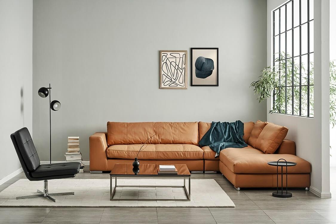 Sofa góc là món nội thất không thể thiếu trong căn hộ chung cư hiện đại